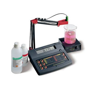 pH Bench Meter with 0.001 resolution and Stability Indicator MS 324
